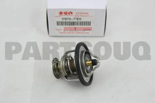 1767077E11 Genuine Suzuki THERMOSTAT 82C 17670-77E11