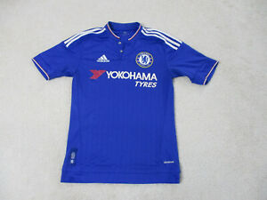 Adidas-Chelsea-Soccer-Jersey-Womens-Extra-Small-Blue-White-Futbol-Ladies