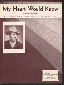 My-Heart-Would-Know-1951-Hank-Williams-Sheet-Music