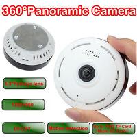 360° Wireless Wifi Ip Camera Fish Eye Security Ip Camera P2p Motion Detection Us