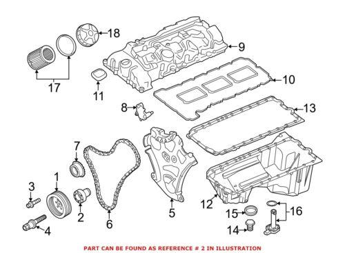 For BMW Genuine Engine Coolant Thermostat Housing Drain Plug 11237574827