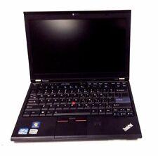 12.5' Laptop Lenovo Intel core i5 2520M CPU 2.50GHz 4GB 320GB Black Windows 10