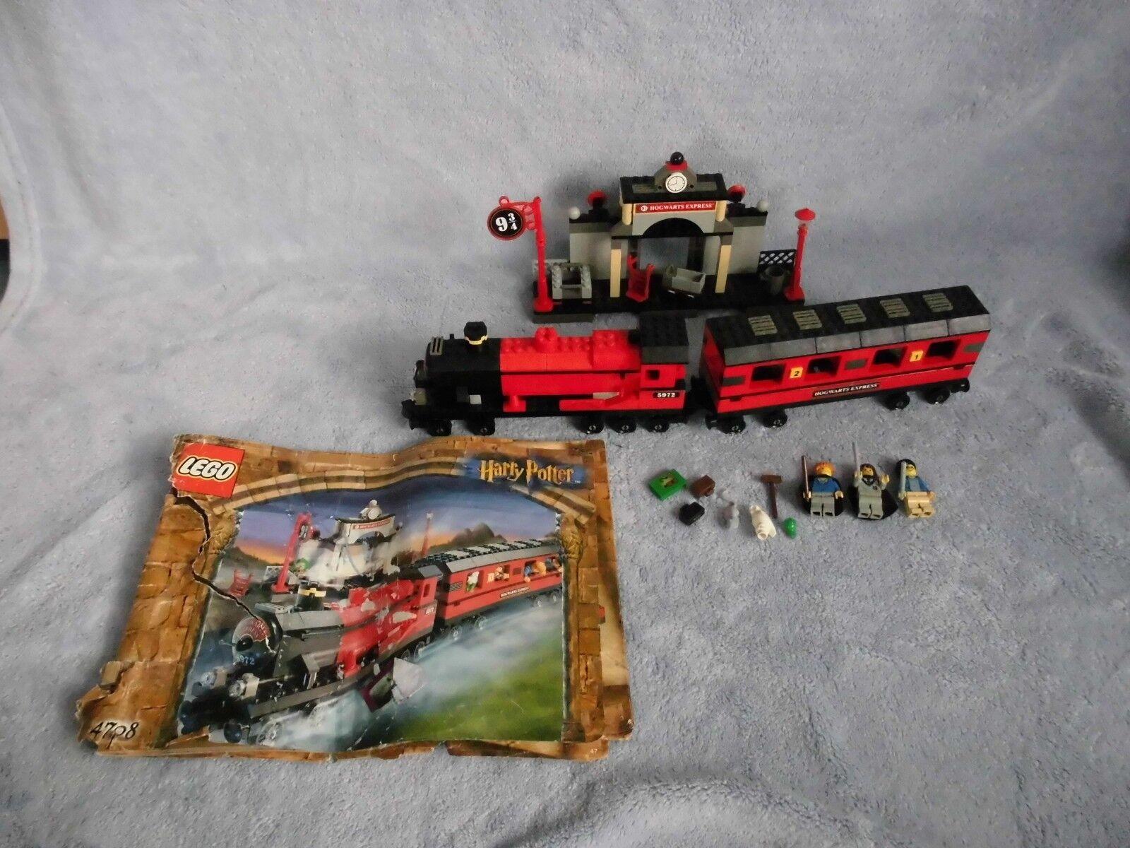 Lego-Harry Potter -  4708-Poudlard Express Gare  distribution globale