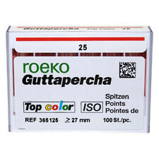 Coltene Roeko 25 Gutta Percha Points100box Pink Point With Color