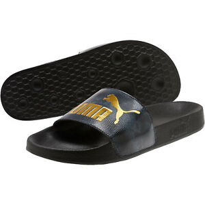 PUMA-Women-039-s-Leadcat-Snake-Lux-Slides