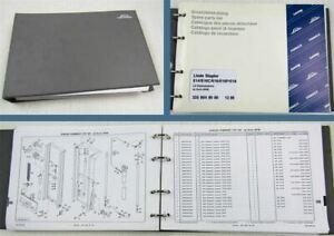 Linde-E14-16-C-P-18P-20P-Elektrostapler-Ersatzteilkatalog-Ersatzteilliste-12-98