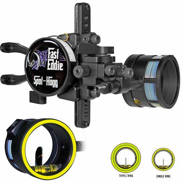 Spot Hogg envuelto Doble Pin Fast Eddie RH .029 Grn YLW 3-Anillo Anillo Amarillo 1