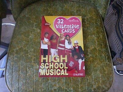 DISNEY High School Musical HALLMARK VALENTINES DAY CARD Lot Of 32 W// Box !