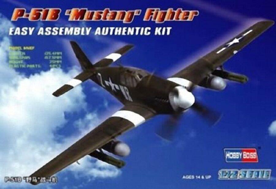 HOBBYBOSS US P-51B MUSTANG FIGHTER FIGHTER FIGHTER Scala 1:72 Cod.80242 9de524