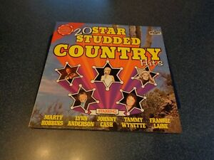 LP 20 STAR STUDDED COUNTRY HITS pickwick records LIMITED EDITION 250 000 copies - Bad Abbach, Deutschland - LP 20 STAR STUDDED COUNTRY HITS pickwick records LIMITED EDITION 250 000 copies - Bad Abbach, Deutschland