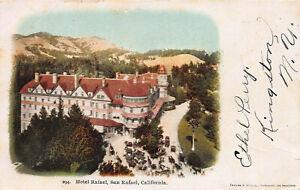 Hotel-Raphael-San-Raphael-California-Very-Early-Postcard-Unused