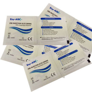 ISOPROPYL ALCOHOL Pre-injection Medical Swabs, Insulin Wipes Tattoo ...