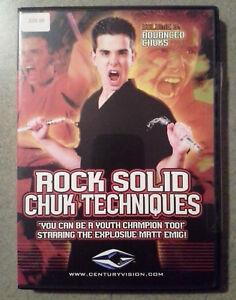 NEW-Rock-Solid-Chuks-Techniques-DVD-039-s-Vol-3-Advanced-Nunchaku-Matt-Emig
