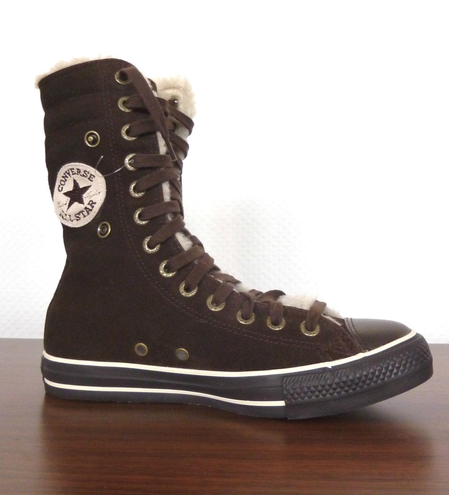 Neu All Star Converse Chucks XHI Knee Leder gefüttert Schuhe Gr.36 111514