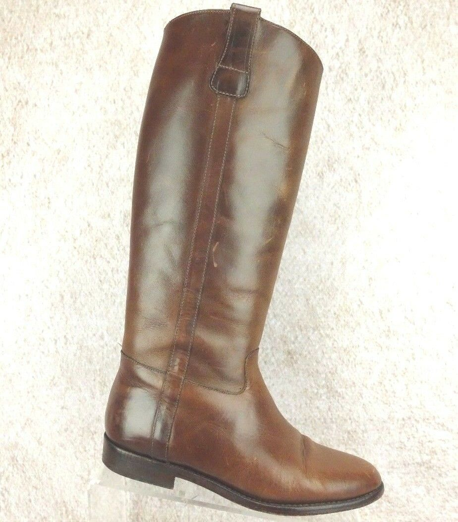 Cole Haan Country Braun Premium Damenschuhe Leder Riding Stiefel Damenschuhe Premium Größe sz 7.5 B df54d2