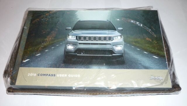 2018 Jeep Compass User Guide Owners Manual Set 18 W Case Manual Guide