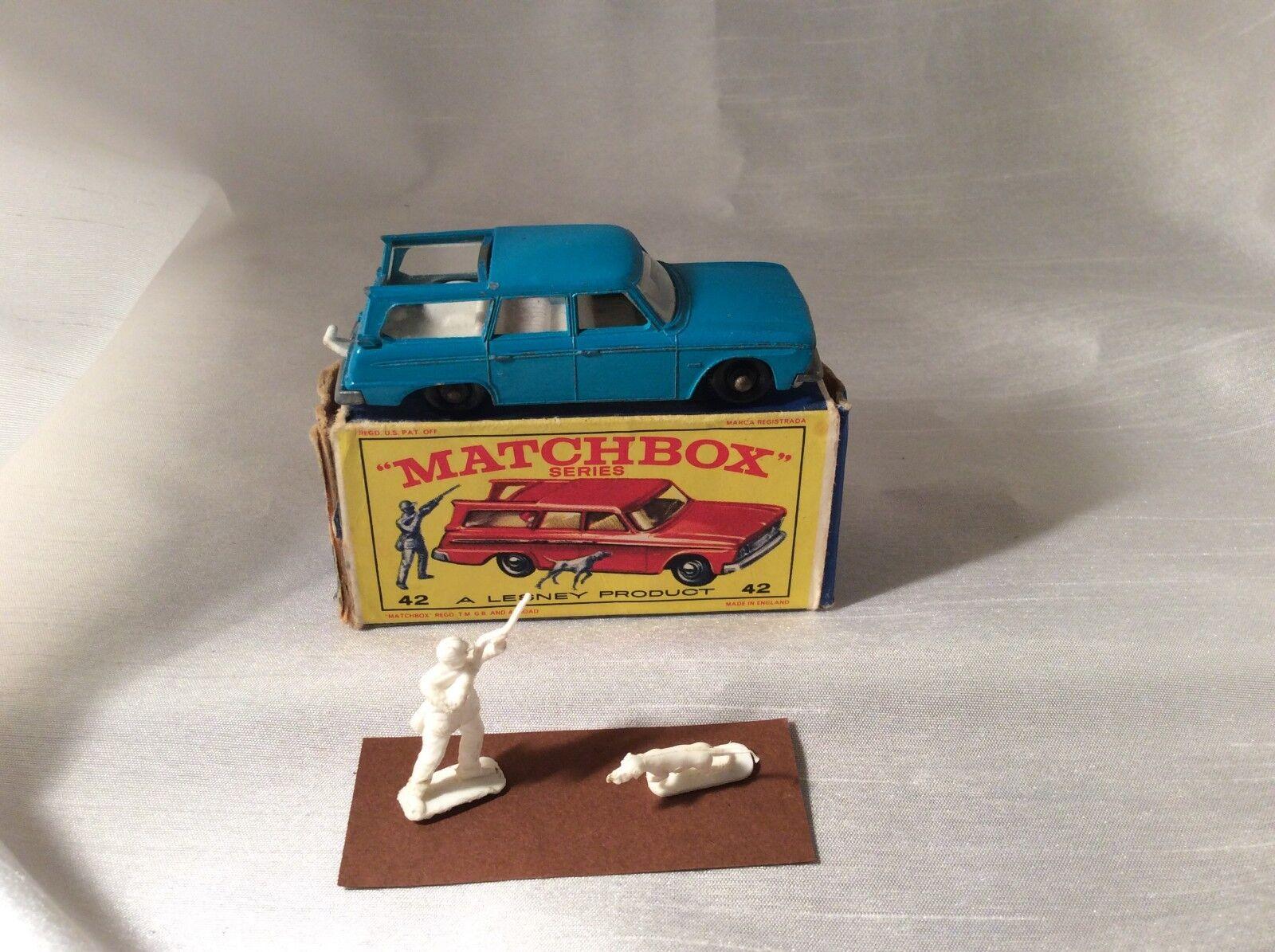 MATCHBOX LESNEY Nº 42 Studebaker Lark STATION WAGON OVP