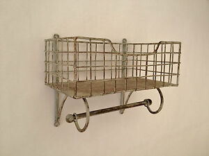 Estante de alambre y carril de cocina pared rack for Estante de cocina industrial