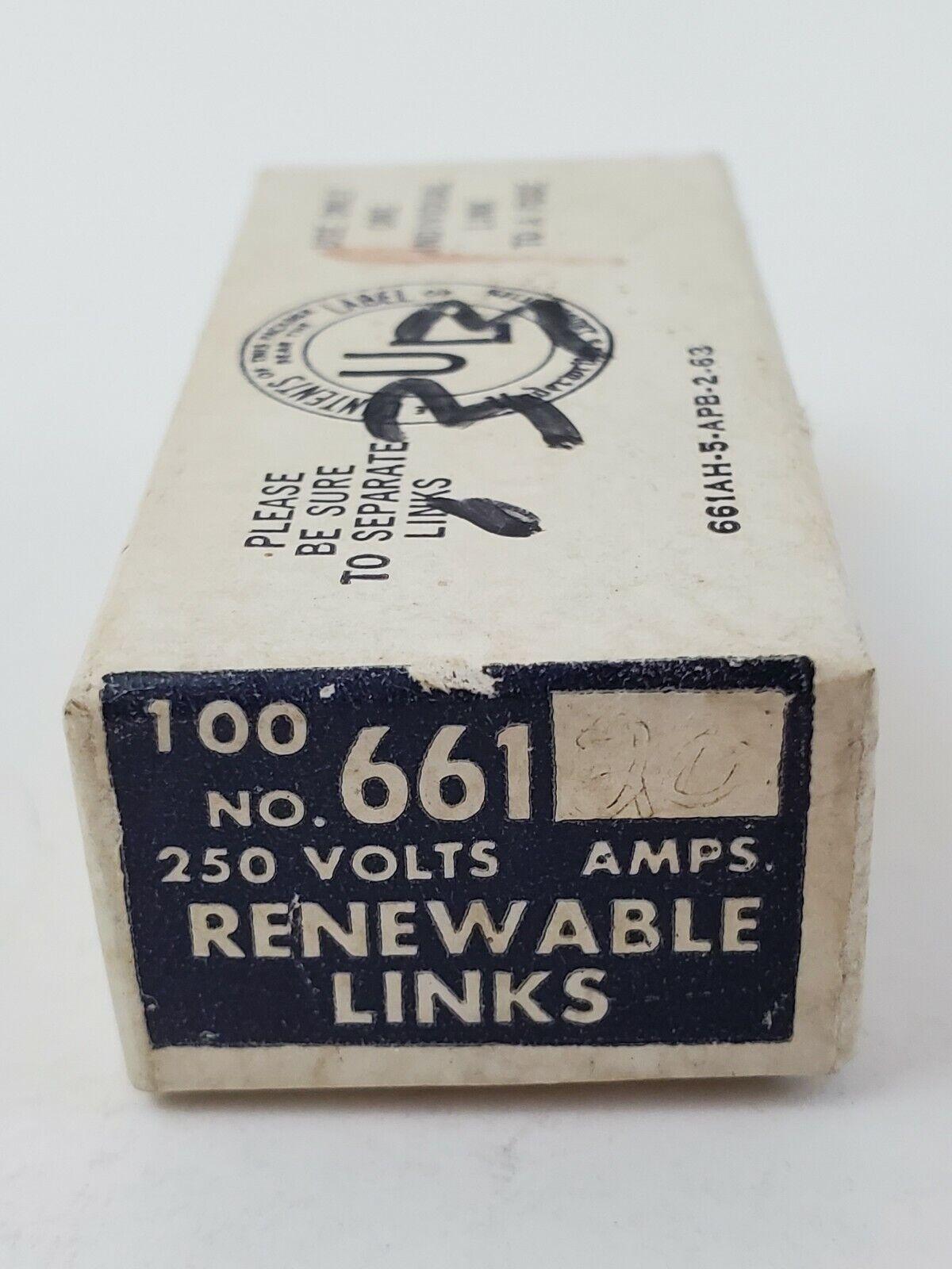 BUSS 55 Amp Renewable Fuse Links 250V or Less for sale online | eBayeBay