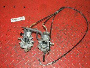 2x-Vergaser-links-rechts-carburetor-Yamaha-RD-250-350-352-351