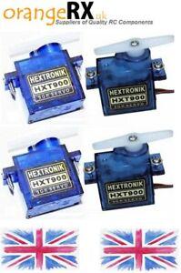 Hextronik-HXT900-9g-Micro-Servo-1-2-4-Packs-RC-Planes-Helis-orangeRX-UK