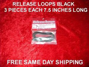 "Archery Release Loops Eliminate Serving Wear,arrow Pinch 3 Pieces 7.5 "" Long Ea Easy To Repair Outdoor Sports"