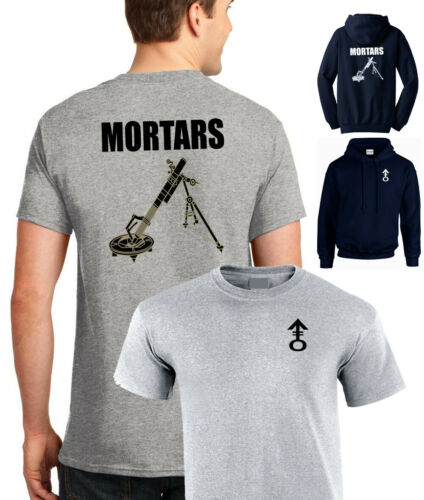 MORTARS heavy weapons platoon company section tshirt regiment RAF ARMY infantry