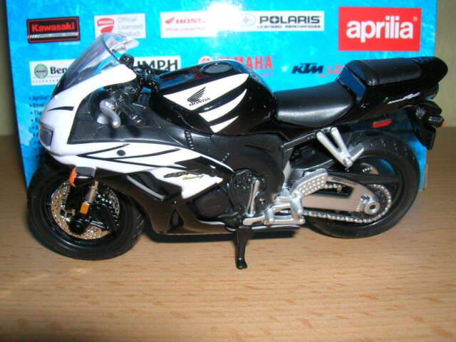 Maisto Honda CBR1000RR / CBR 1000 RR nero bianco, 1:18 MOTO