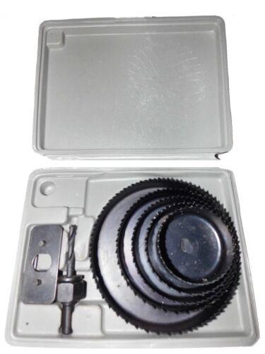 Lochkreisbohrer Lochsäge 8TLG 51-102mm für Holz /& Plastik