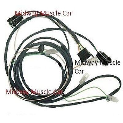 rear body tail light wiring harness 64 pontiac gto lemans 1964 coupe & post    ebay  ebay