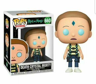 FUNKO POP ANIMATION DEATH CRYSTAL MORTY 660 44249 NEW IN STOCK RICK /& MORTY