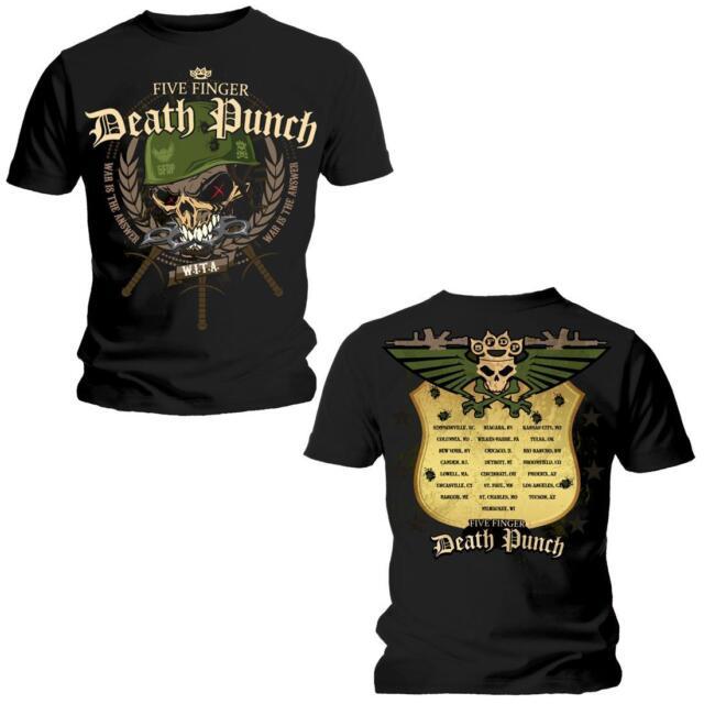 FIVE FINGER DEATH PUNCH - WARHEAD T-SHIRT M/L/XL