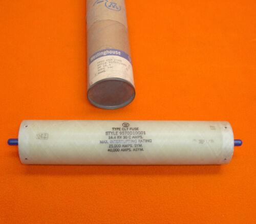 NEW Westinghouse 9570D10G01 Type CLT Fuse 14.4 KV 30 C amps 9570