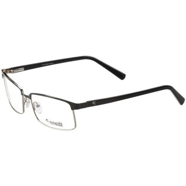 870fae4503f Fatheadz VITO Oversize Mens Eyeglasses Semi-rimless Optical Frame ...