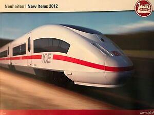 LGB NEW ITEMS CATALOG 2012 | NOS | TMS-1075