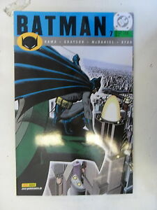 1 X Bd-dc Batman Panini Année (2001) Nº 7 état 1-afficher Le Titre D'origine Performance Fiable