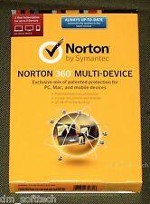 (NIB) Norton 360 Multi-Device 5PC, Mac, Android, iOS, 1Year (w/25Gb backup)