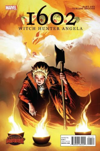 1602 WITCH HUNTER ANGELA #1 125 RICHARD ISANOVE VARIANT COVER NM OR BETTER