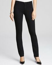 j brand Vanity Straight Leg Photo ready stretchy jeans (black) sz.27 $189 NWT