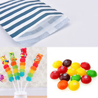 Candy Stripe Paper Bags Sweet Favour Buffet Gift Shop Party Sweets Cake Wedding^
