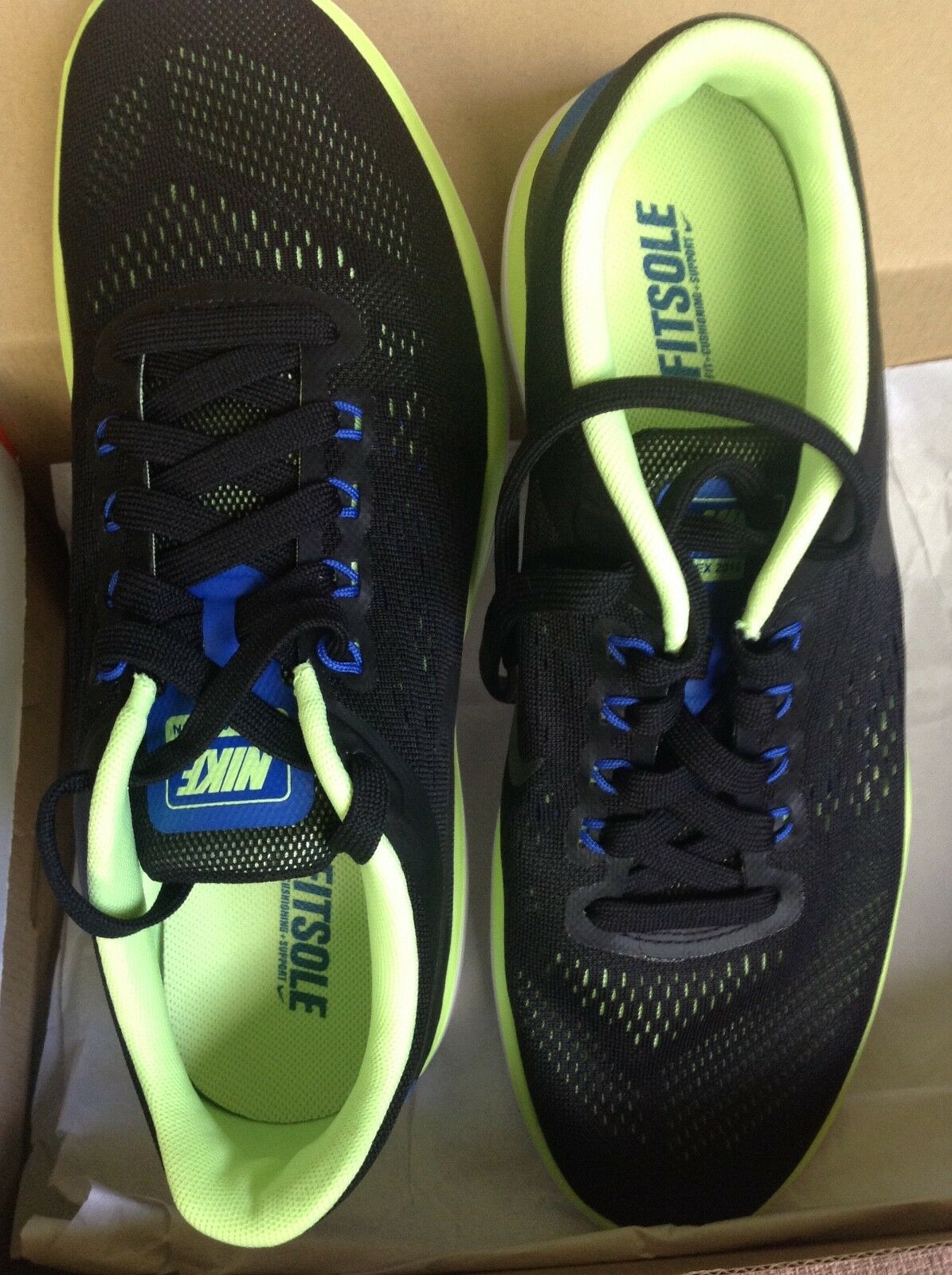NEW MENS NIKE FLEX RUN RN 2018 RUNNING SHOES TRAINERS SIZE 10