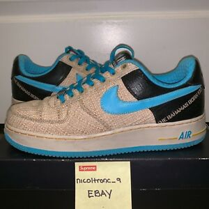 Nike Air Force One Thompson Limited Edition size 13 Tweed