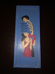 Jose Cuervo Tequila Reserva De La Familia Wooden Box 2000 Mercedes Gertz RARE