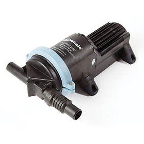 Whale Gulper 220 12v Waste Wasserpumpe für Wohnmobile//Abdeckungen//Wohnmobile