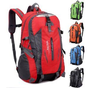19c24007534d Image is loading 30L-Backpack-Waterproof-Rucksack-Hiking-Camping-Trekking- Bag-