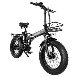 Bici Elettrica Ripiegabile Bicicletta Pedalata Assistita E Scooter 750w 120km Ebay