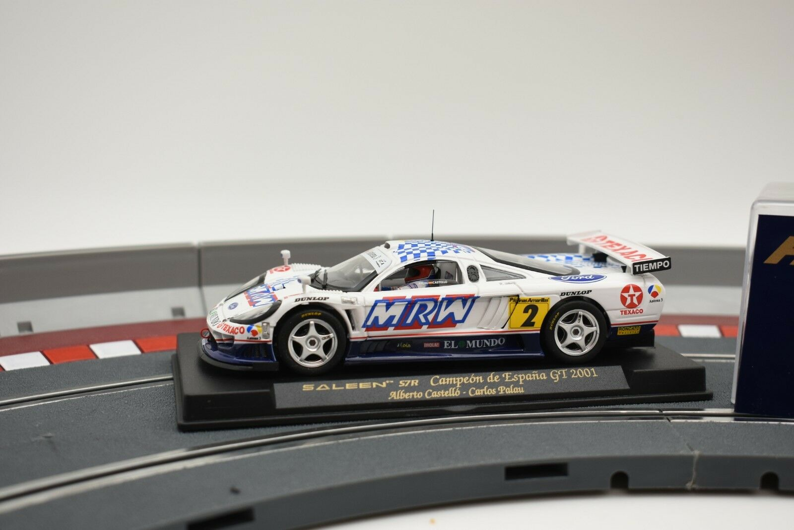 88020 FLY CAR MODEL 1 32 SLOT CAR SALEEN S7R CAMPEON DE ESPANA GT 2001 A267
