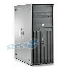 PC COMPUTER HP COMPAQ DC 7800 QUAD CORE, WIN.10, RAM 4GB, HD 250GB