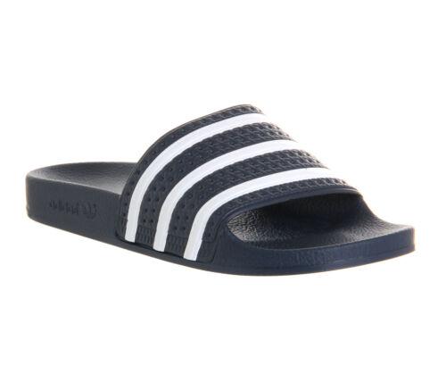 Adilette Sandals White Sliders Adidas Femmes Marine 1FpOZ8