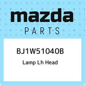 BJ1W51040B-Mazda-Lamp-lh-head-BJ1W51040B-New-Genuine-OEM-Part